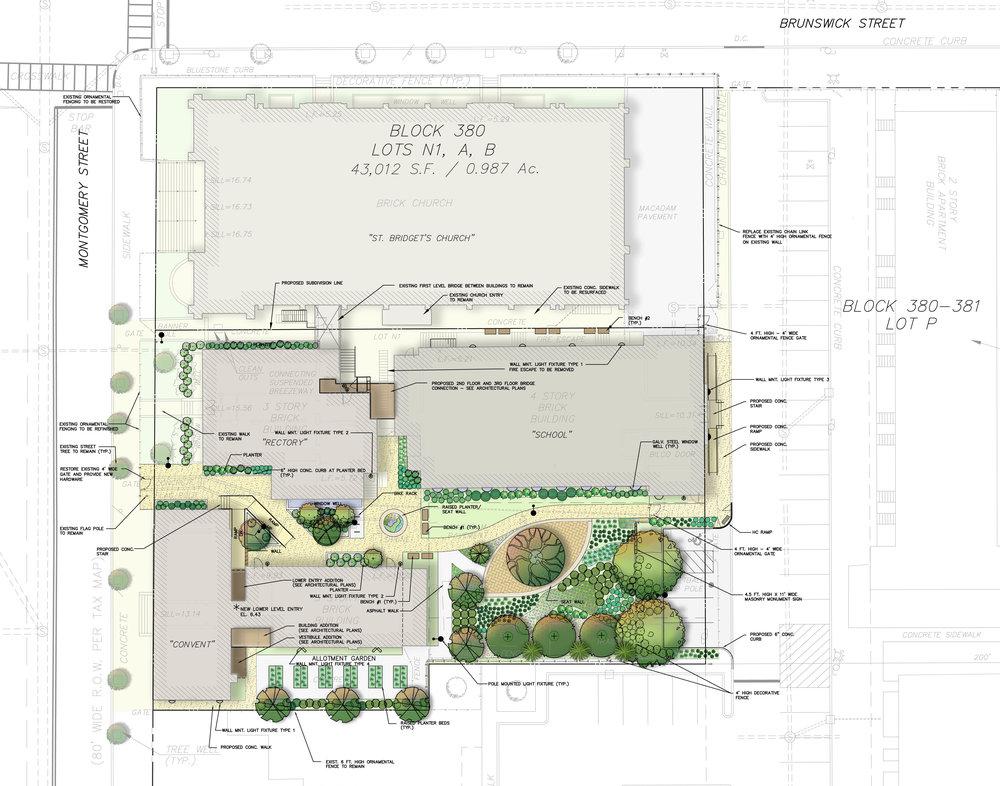 St. Bridget's Complex - Landscape Plan
