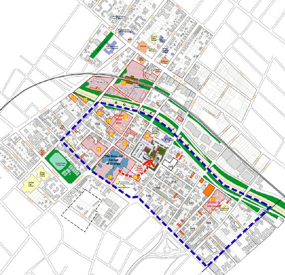 Transit Village - Map