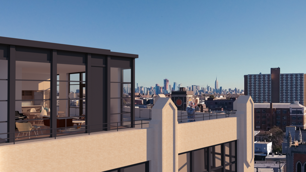 Canco Lofts Tower One - Penthouse addition