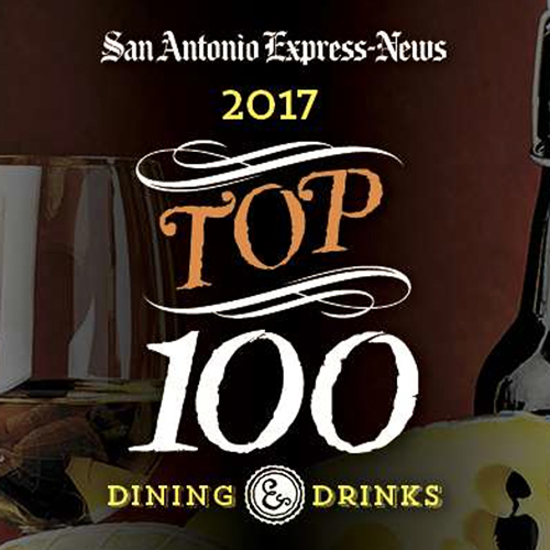 San Antonio Express News Names Aldo's in the Top 100 Restaurants