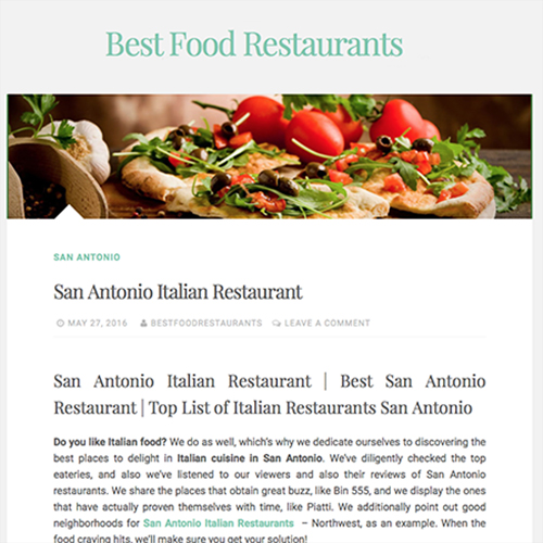 Aldo's in Top Italian Restaurants by Best Food Restaurants