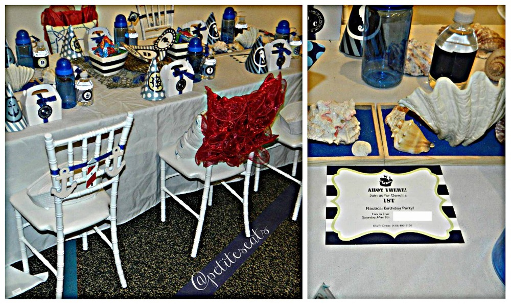 Our Nautical Themed Tablescape