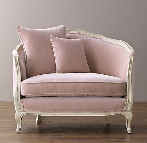 Mini Ondine Salon Bench -- Restoration Hardware