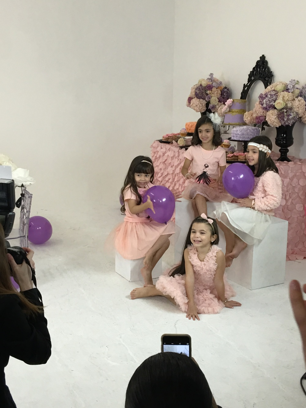 Mila, Paris, Alessandra, and Olivia were absolute dolls and sooo photogenic.