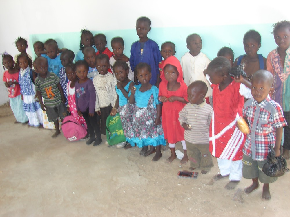 We also spent $400 to fix the floor of the pre-school to ensure a safe learning environment for all the kids.