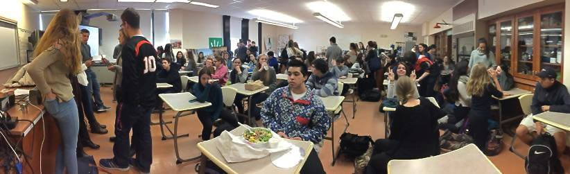 A huge turnout at our first meeting after break!