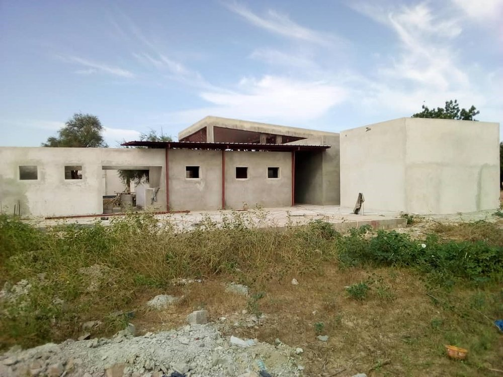 Exterior view of women's center - 11/12/18