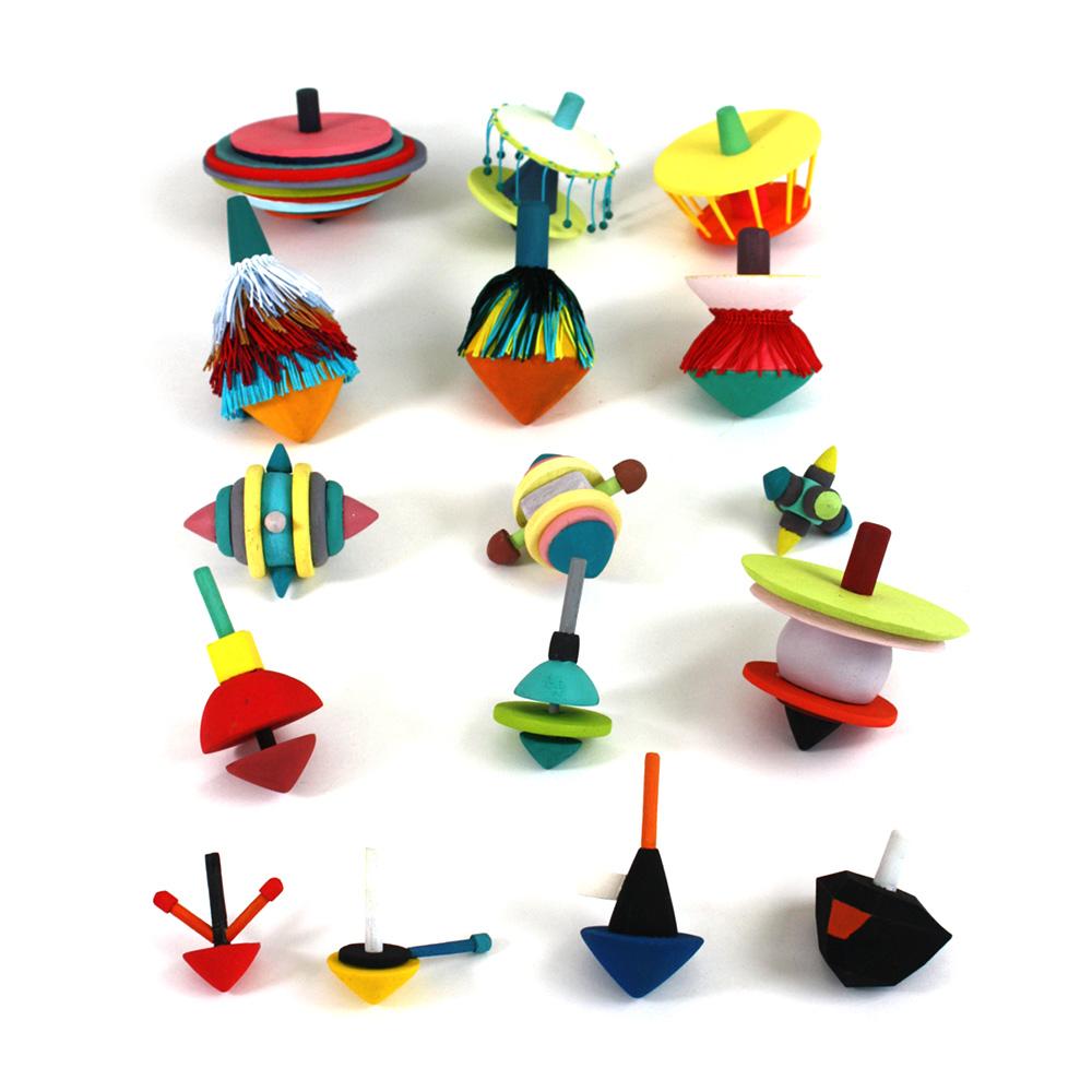 Spinning Tops by Catherine Stolarski