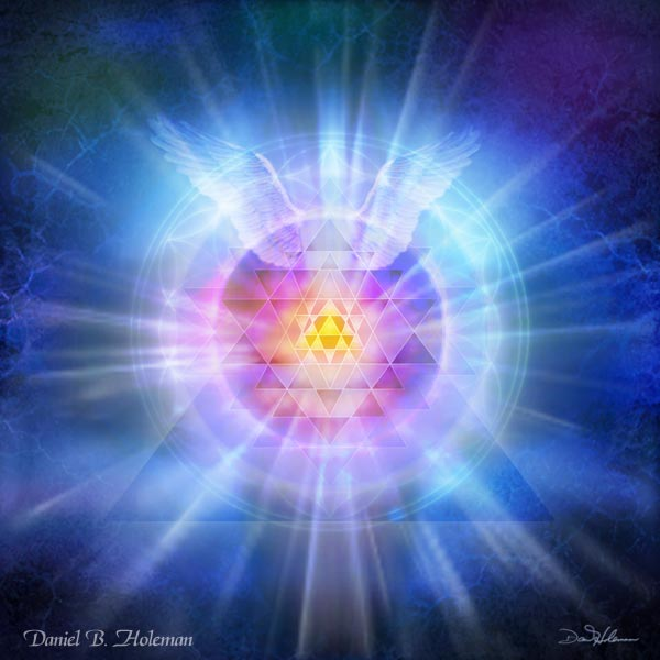 "Cosmic Brotherhood of White Light. Image by <a href=""http://www.awakenvisions.com"">Daniel B. Holeman</a>."