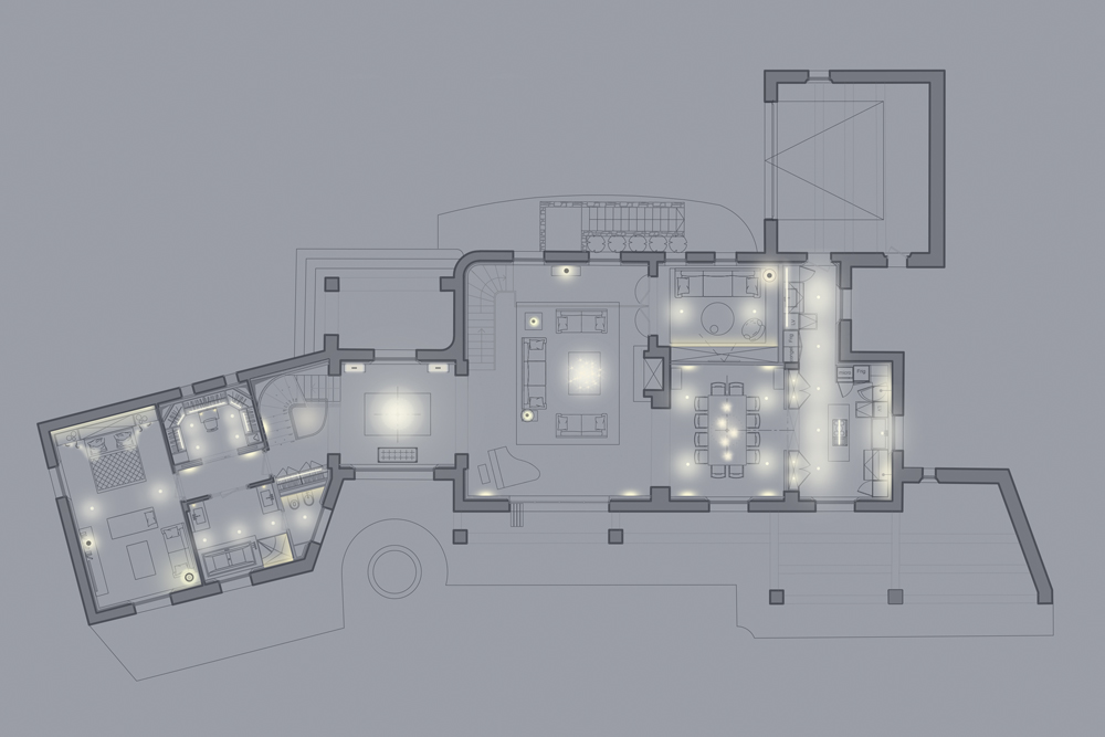 studio de schutter villa mougins photo shoot lighting setup diagrams highend residential lighting jpg