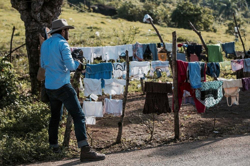 2012 - Filming Esperanza Documentary in the Dominican Republic.