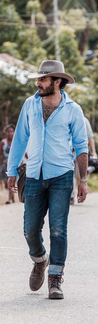 Ramy Romany filming esperanza in 2015 in the dominican