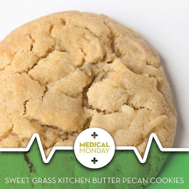 #MedicalMonday @sweetgrasskitchen Butter Pecan cookies. Only the freshest ingredients in Colorado used! 500mg THC!