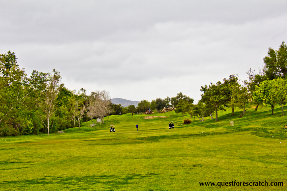 View from the PAR 5 18th Fairway - I was sitting about 228 yards from the hole and I decided to layup with my 5-wood and play it smart, I was able to get a sand wedge up and down for a GIR and ended up three putting for a closing bogey.