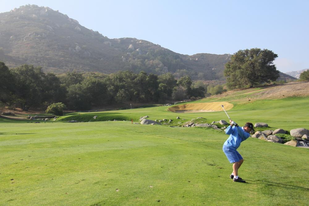 Birthday Golf at Pechanga