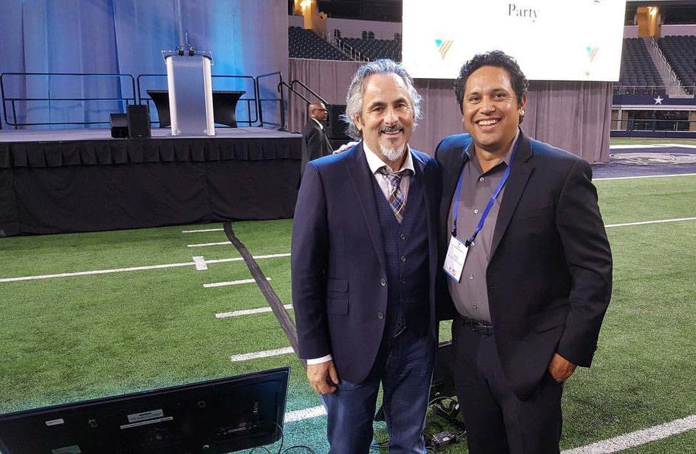 David Feherty meets David Bareno