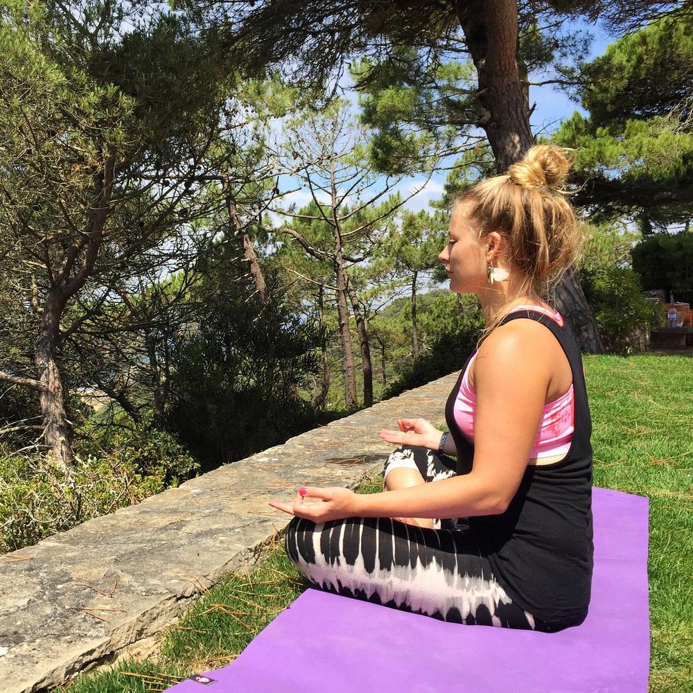 Sunny meditation