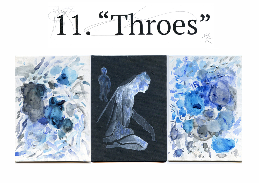 11. THROES