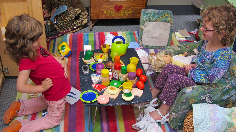 Pretend play allows children to try on roles and practice behaviors they see around them. Whether they are putting out a house fire or inviting friends to tea, they are exploring the world they see.