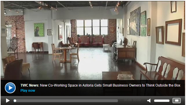 New Co-Working Space in Astoria Gets Small Business Owners to Think Outside the Box - See more at:  NY1