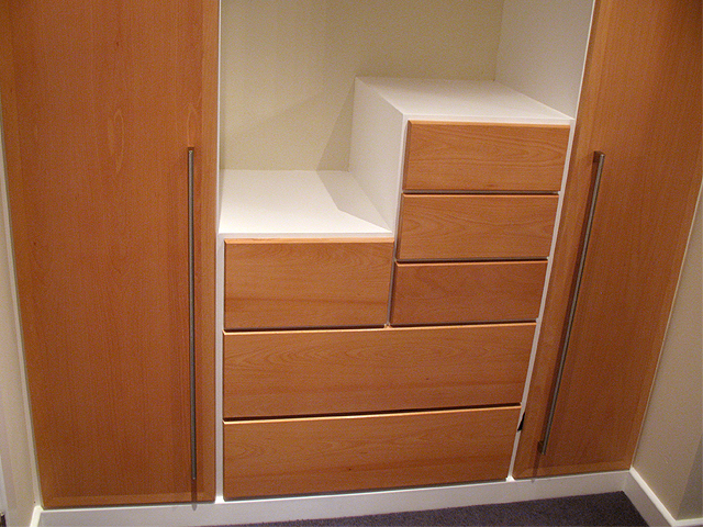 Beech Wardrobes And Dressing Room   Handmade Bespoke Bedroom Furniture,  Brighton, Sussex