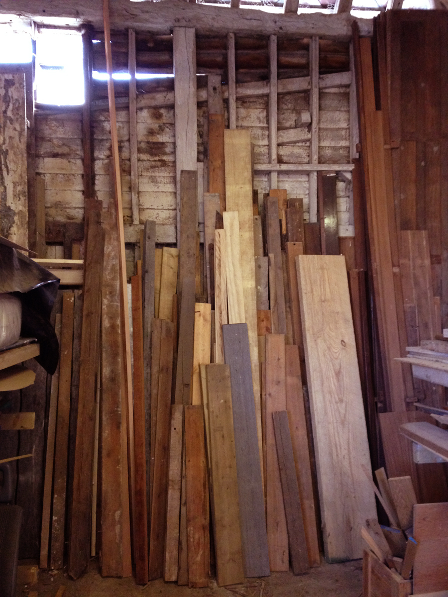 Reclaimed wood stocks