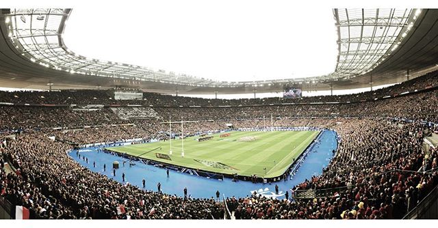 France - wales. Stade de France, Paris. #Allezlesbleus @tomguy5 @alexdesmedt12 @frenchy_fred