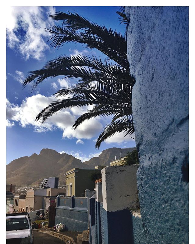 That Cape Town feeling. Miss that. #ctlove #cape #town #love #blues #bokaap #sky#tia