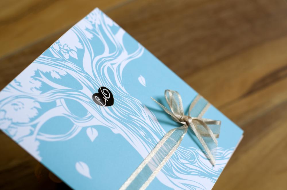 OLGA & LEN-NARD / wedding invitation