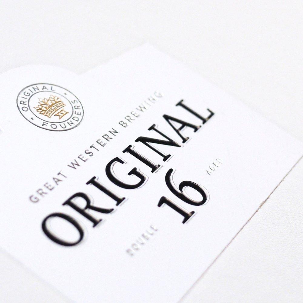 ORIGINAL 16 SALES MATERIALS