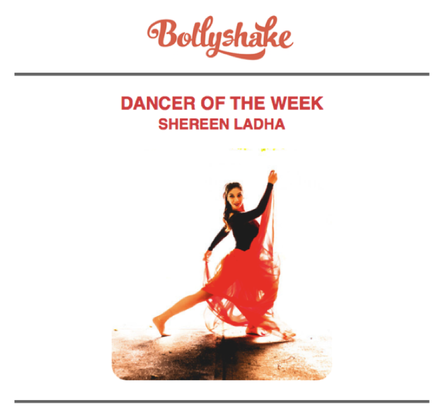 toronto dancer bollyshake dancer of the week bollywood