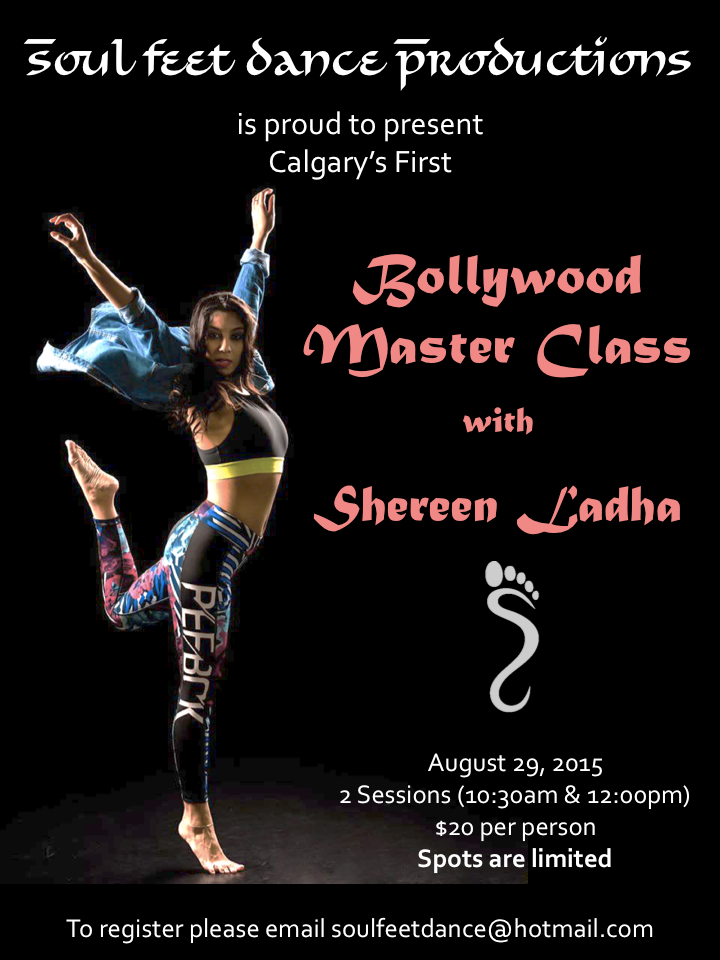 calgary bollywood class instructor teacher dancer choreographer