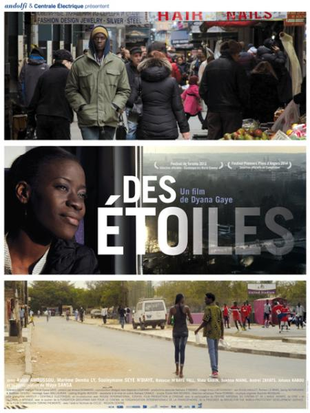 Des Étoiles. Director: Dyana Gaye.  Atlantic Pictures Production Services, New York. NYC.  Production Management  Post-Production Supervision  Casting  Budget and Schedule Preparation  Location Scouting  Negotiating union and guild agreements  Negotiating vendor agreements including production equipment, studio rentals and post-production facilities  Hiring crews and production personnel