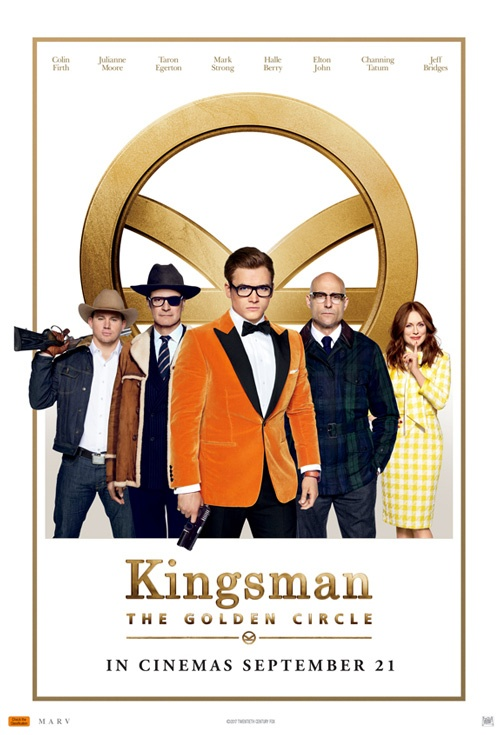 Kingsman Golden Circle Marv