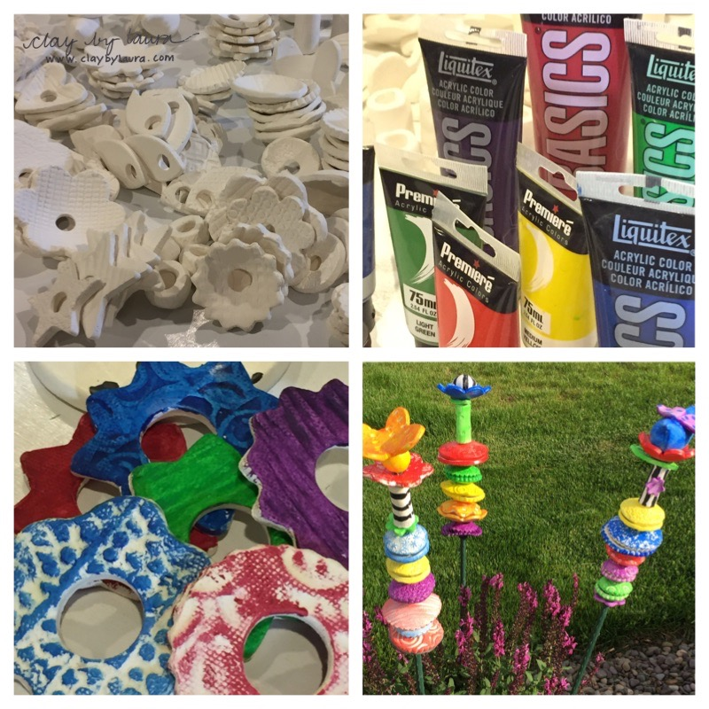 If you'd like a chance to play in the clay and you live near Frederick, Md., sign up to create your very own potsticker on July 15 through a craft party sponsored by  The Muse . You can register at the store or call 301-663-3632 to reserve your spot! I'll have all the necessary materials available for you to take your finished garden adornment home that night! It's a fun activity to share with a friend.