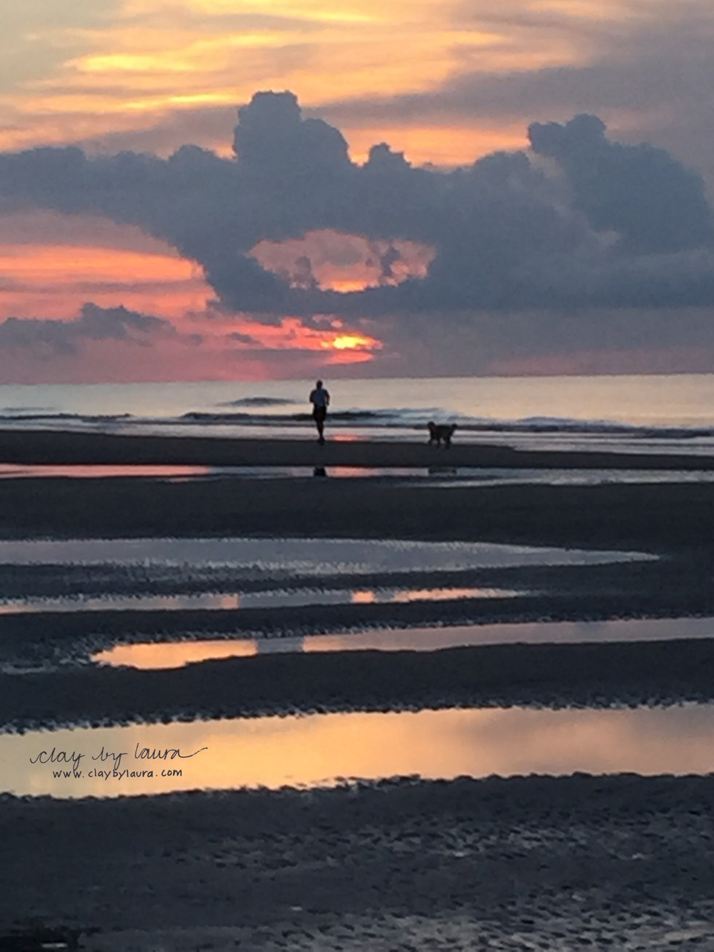 Sunrise on Hilton Head is filled with natural beauty. It's surely one of the things my family misses about living here. Luckily, we can all come and revisit the activities and friends we knew here and regain some of that special balance we need in our lives.