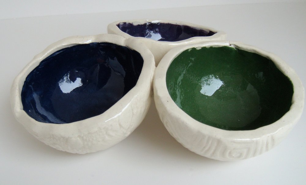 Here's a triple bowl set I've made in the past.