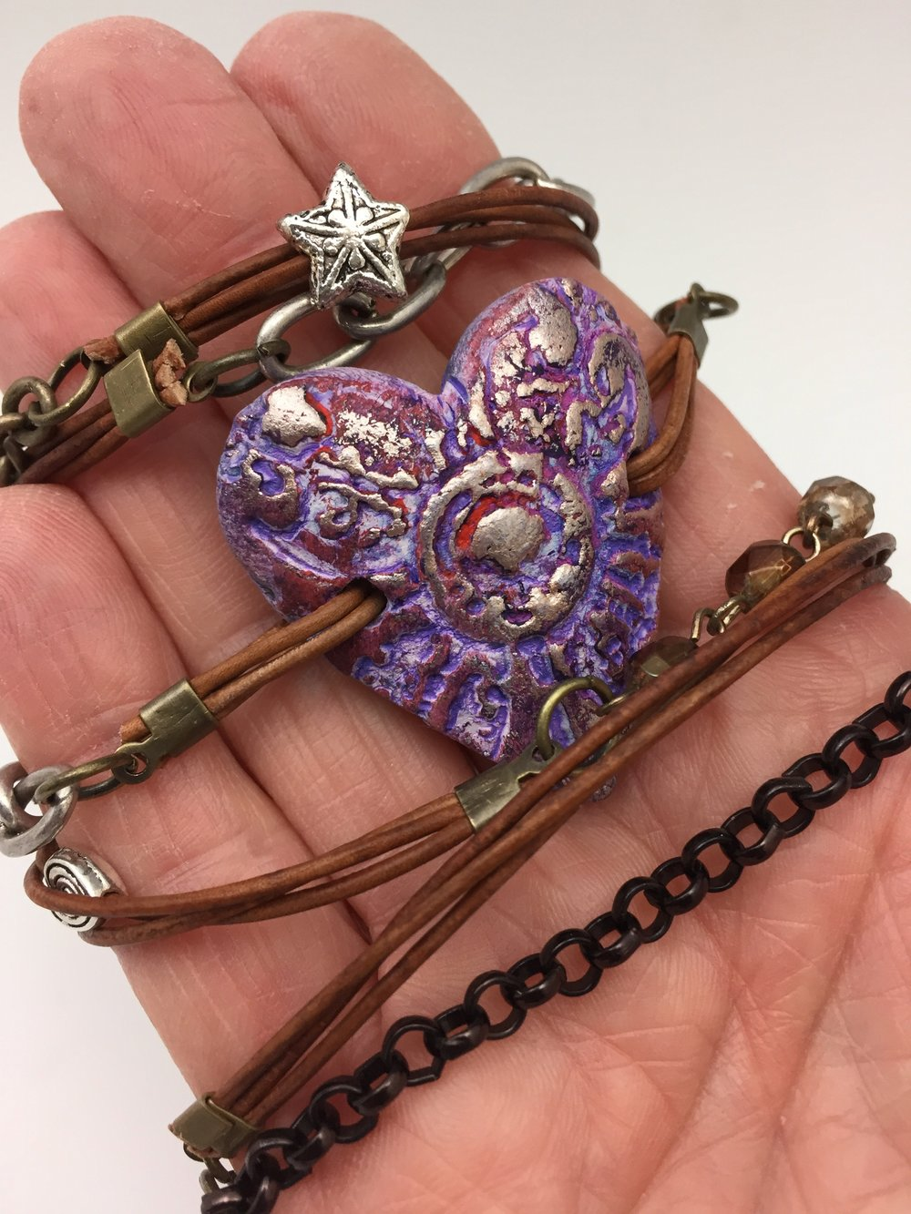 Do you like jewelry? Want to take that passion one step further? Sign up for my wrap bracelet craft party sponsored by The Muse in Frederick, MD! I'd love to see you on Wedesdnay, June 21. I'll bring the supplies (and a batch of my chocolate chip cookies!) and help you make one of these special creations of your own. Click on photo for more details.