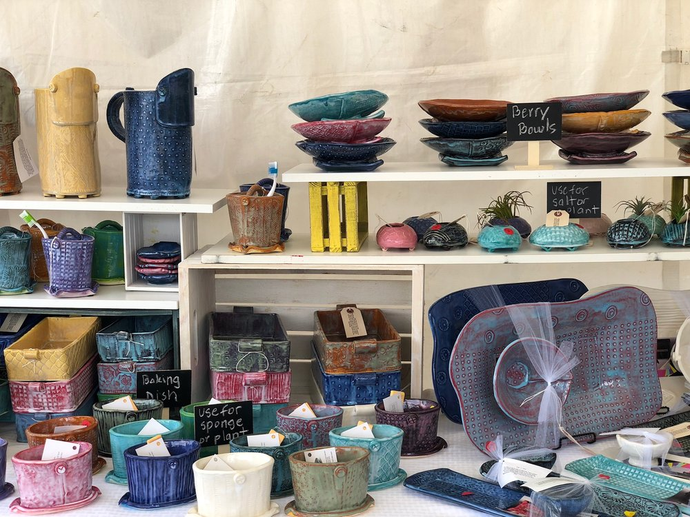 Do you live in Huntsville and still want to shop for ClayByLaura locally? Good News! Several of my creations are now available at  T  he Little Green Store and Gallery  thanks to Ana Byrne! And, I'll be coming back with more pottery before the year ends for a special show at the shop! Keep your eye open for details!