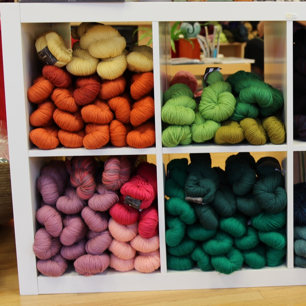 Never without the best workhorse wools and classic yarns