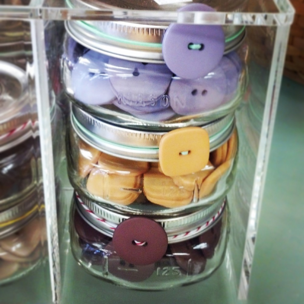 Always stocked with beautiful vintage and new stock buttons and trims