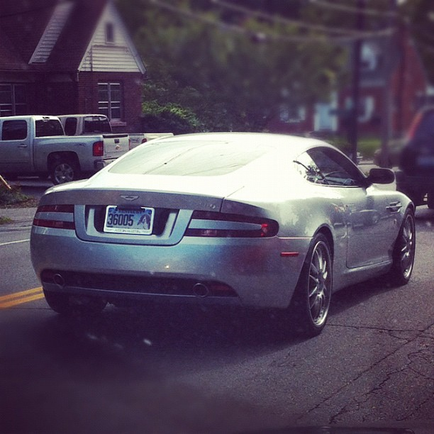 Nice Aston Martin! (Taken with  instagram )
