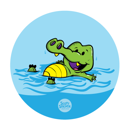 Level 2 - Water Safety - J Swim School Gator