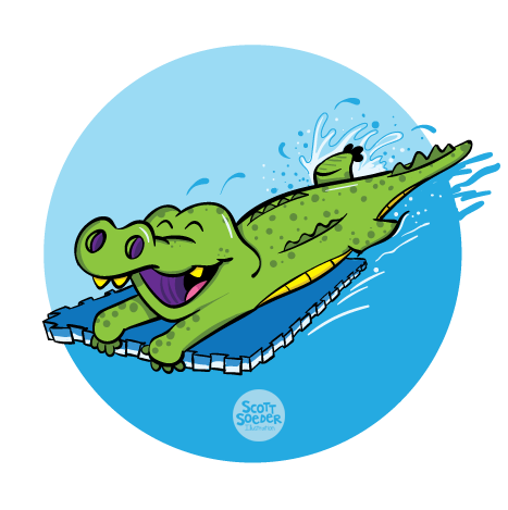 Level 3 - Pre-Stroke - J Swim School Gator