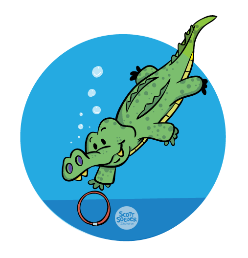 Level 4 - Pre-Stroke - J Swim School Gator