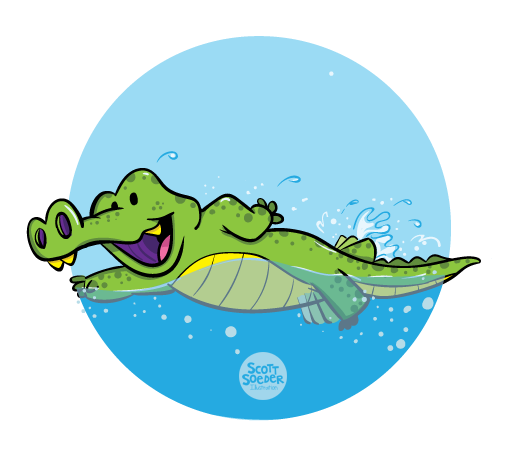 Level 5 - Stroke - J Swim School Gator