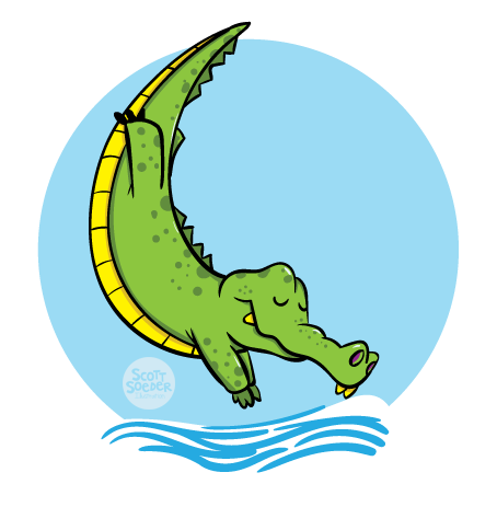Level 6 - Stroke - J Swim School Gator