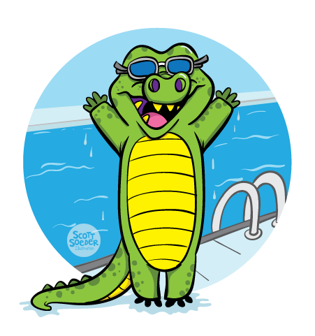 Level 7 - Stroke Advancement - J Swim School Gator