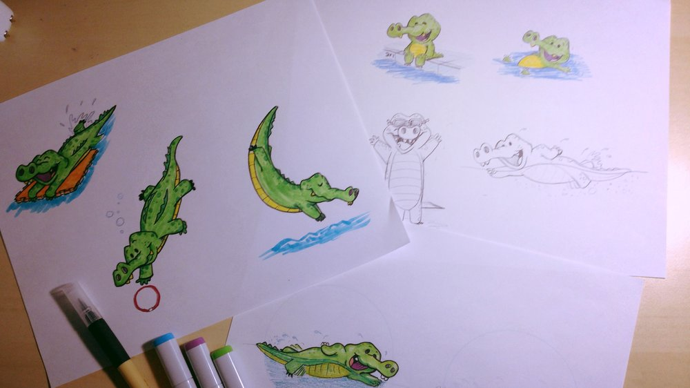 J Swim School Gator Process