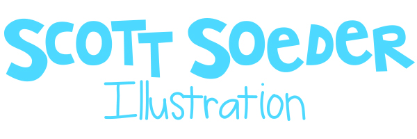 Scott Soeder • Louisville, KY Illustrator specializing in books, games, apps, puzzles for kids